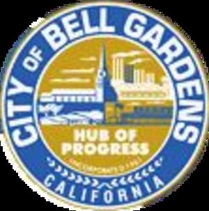 Bell Gardens, California - Image: Seal bell gardens ca