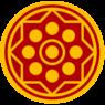 Seal of Ayutthaya (King Narai) goldStamp bgred.png