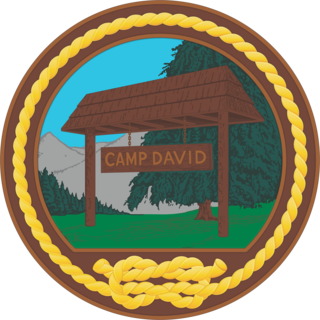 Camp David country retreat of the President of the United States
