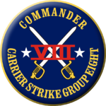 Seal of Carrier Strike Group 8.png