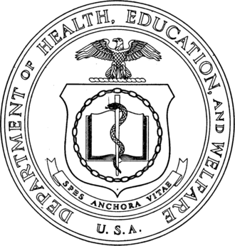 United States Department of Health and Human Services - Image: Seal of the United States Department of Health, Education, and Welfare
