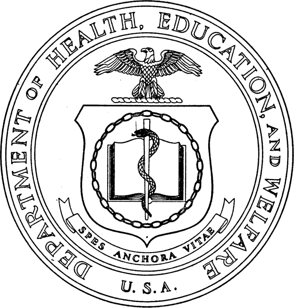 Seal of the United States Department of Health, Education, and Welfare