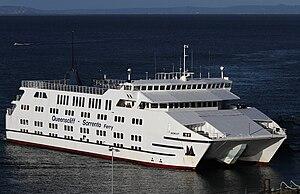 MV Queenscliff (1992) - Image: Searoad Ferry 'Queenscliff', Queenscliff, jjron, 06.07.2010