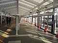 Seaside Line Kanazawa Hekkei station platform 1 20191201.jpg