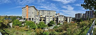 Northgate, Seattle - The residential part of the Thornton Place complex, immediately south of Northgate Mall.