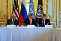 Secretary Kerry, Russian Foreign Minister Lavrov, and UN Special Representative Brahimi Meet in Paris (11930516784).jpg