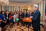 Secretary Kerry Delivers Remarks at the 11th Annual Edward R. Murrow Program for Journalists (30736508325).jpg