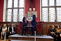 Secretary Kerry Poses for a Photo With Oxford Union President Harris After Delivering an Address to the Union Membership (26956147915).jpg