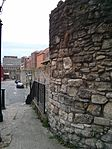 Section of Wall Running West from Polymond Tower to Remains of Semi-circular Tower to East of Bargate and Small Part South of Po