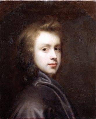 1708 in art - Image: Seeman Selbstporträt