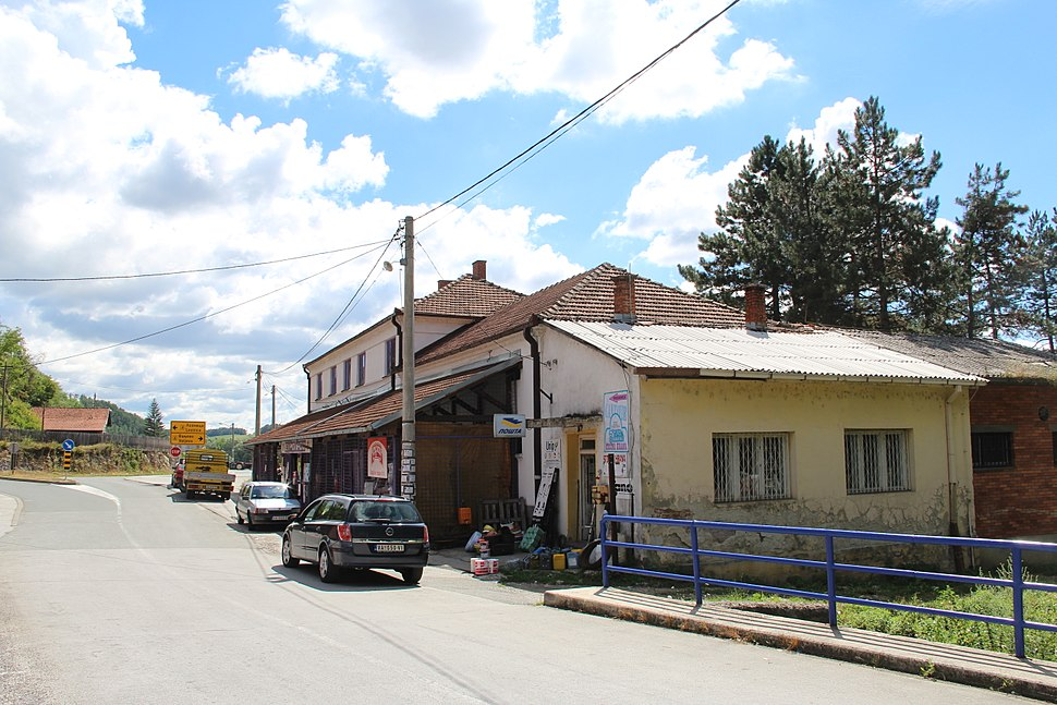 Selo Pričević - opština Valjevo - zapadna Srbija - centar sela 3