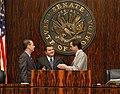 Senators having a chat during the 2004 Legislative Session.jpg
