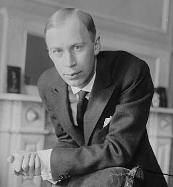 Russian composer Sergei Prokofiev (1891-1953)