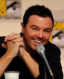 Seth MacFarlane, creatore e doppiatore di numerosi personaggi