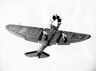 Seversky P-35 - The Seversky SEV-DS, flown by Jimmy Doolittle