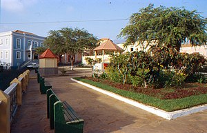 São Filipe, Cape Verde - Square in São Filipe