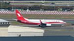Shanghai Airlines Boeing 737-86D B-1720 Taxiing at Taipei Songshan Airport Apron 20150104b.jpg