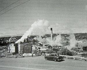 Shelton, Washington - Shelton sawmills
