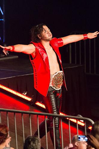 Shinsuke Nakamura - Nakamura as the IWGP Intercontinental Champion in May 2014