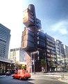 Shizuoka press and broadcasting center building - taxi - June 20 2017.jpg