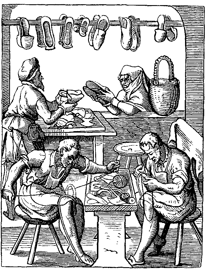 Shoemaker Book of Trades