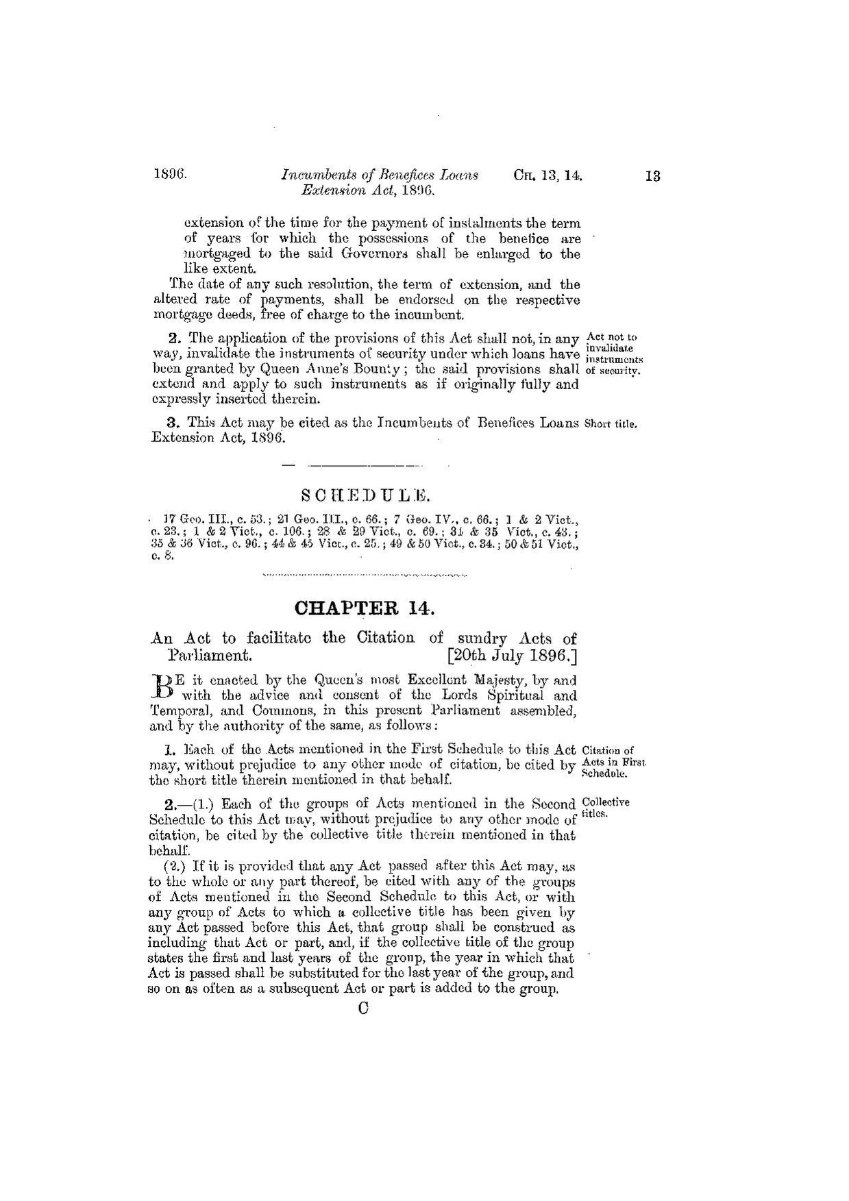 Fileshort Titles Act 1896ukpga 18960014 Enpdf Wikimedia Commons Original File 1239 X 1754 Pixels Size 211 Mb Mime