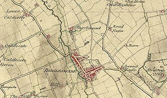 Shortmead House - Map showing Shortmead Estate in 1804.