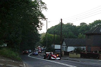 Thundersley - Image: Show Off on Bread and Cheese Hill geograph.org.uk 65783