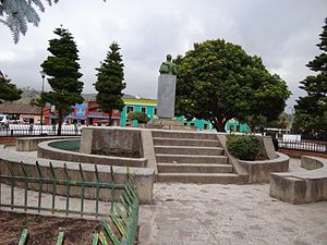 Siachoque - Central square Siachoque