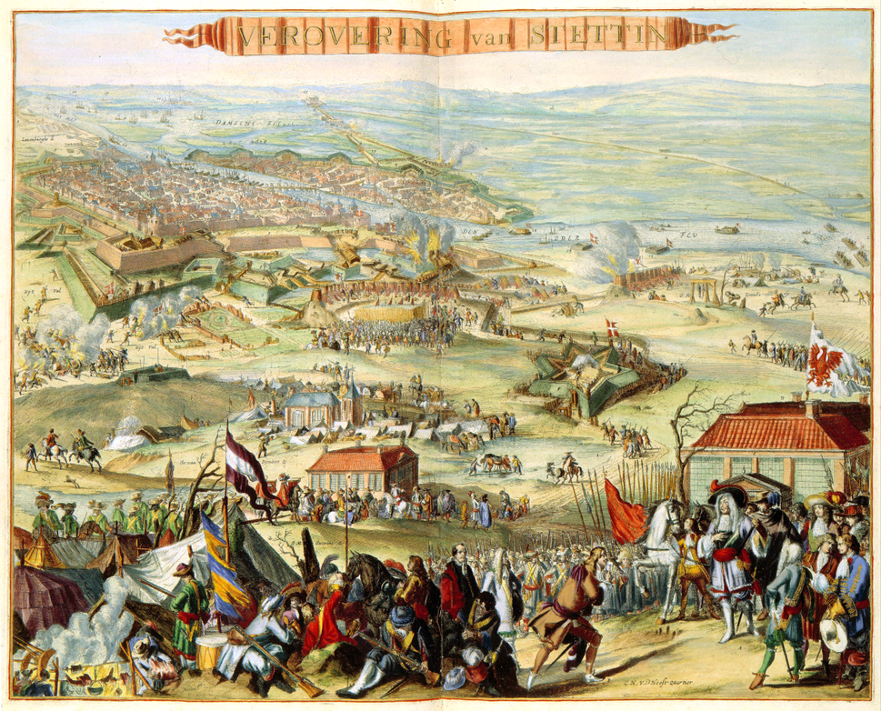 Siege of Stettin during Scanian War