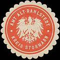 Siegelmarke Amt Alt-Rahlstedt Kreis Stormarn W0334296.jpg