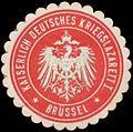 Siegelmarke K.D. Kriegslazarett I W0320237.jpg