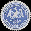 Siegelmarke K.Pr. Commandantur von Coblenz und Ehrenbreitstein W0379169.jpg