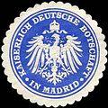 Siegelmarke Kaiserlich Deutsche Botschaft in Madrid W0223471.jpg