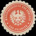 Siegelmarke Kreis-Ausschuss des Kreises Ost-Prignitz W0342443.jpg