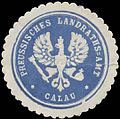 Siegelmarke Pr. Landraths-Amt Calau W0391484.jpg