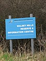 Sign beside the path to Walsey Hills - geograph.org.uk - 1180308.jpg