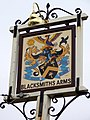 Sign for the Blacksmiths Arms - geograph.org.uk - 1748449.jpg