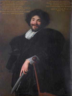 Simon de Vos - Simon de Vos by Abraham de Vries (1635)