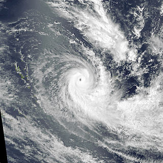 Cyclone Sina Category 3 South Pacific cyclone in 1990