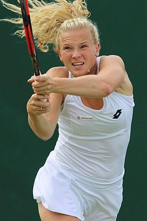Kateřina Siniaková - Siniaková at the 2017 Wimbledon Championships
