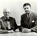 Sir Henry Hallett Dale and Charles Frederick Code. Photograp Wellcome V0026252.jpg