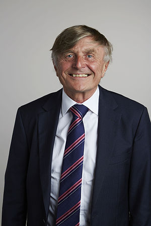 Robin Saxby - Robin Saxby in 2015, portrait via the Royal Society