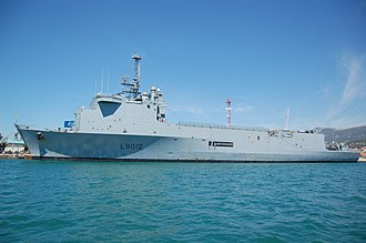 Amphibious transport dock - Image: Siroco toulon