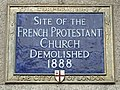 Site of the French Protestant Church demolished 1888.jpg