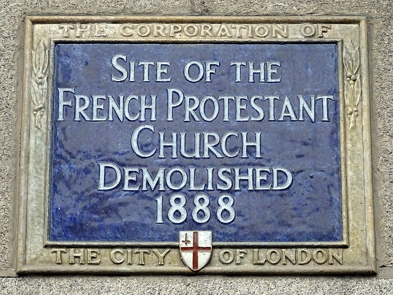 File:Site of the French Protestant Church demolished 1888.jpg