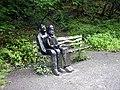 Sitting beside the Tarka Trail - geograph.org.uk - 895913.jpg