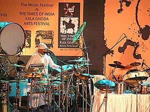 Kala Ghoda Arts Festival - Sivamani, acclaimed percussionist at the Kala Ghoda festival, 2007