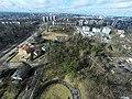 Skats uz RSU pusi- panorama bird's eye view - panoramio.jpg
