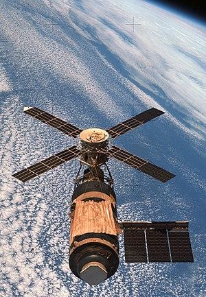 English: Skylab space station. Français : La s...